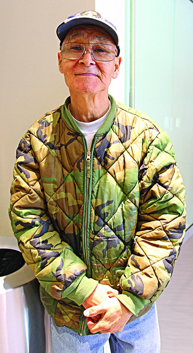 Vince Pikonganna of King Island/Nome.