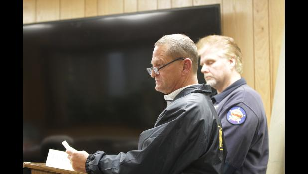 UPDATE— NPD Deputy Chief Robert Pruckner updated the Nome Common Council on Monday on the search efforts for Florence Okpealuk.