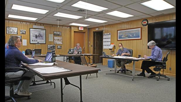 COUNCIL MEETING— The Nome Common Council met at a rescheduled time on Tuesday, May 26.