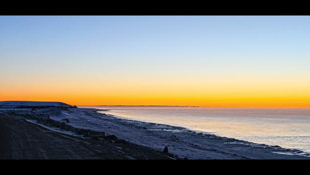 NO ICE— Norton Sound waters in front of Nome are still ice free on Monday, Nov. 28.