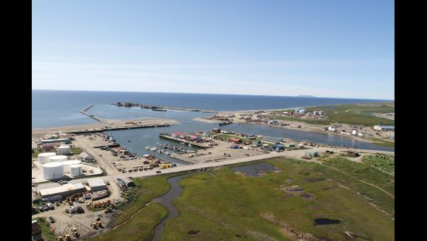 PORT OF NOME— The federal WIIN Act may pave the way for Port of Nome expansion projects.