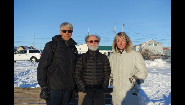IN NOME— The federal Marine Mammal Commission consisting of commissioners Michael Tillman, Daryl Boness and Frances Gulland visited Nome this week for a listening session with the public, among other meetings.