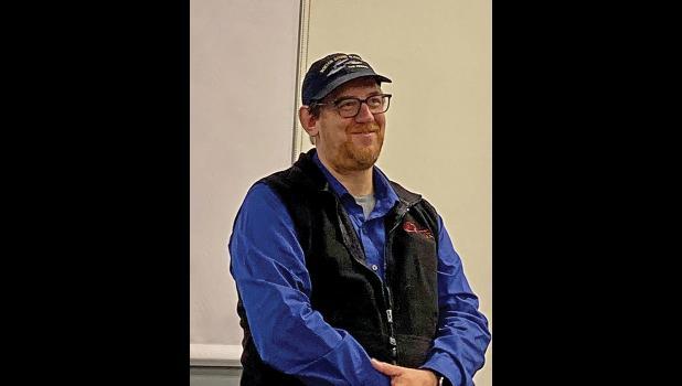 NOAA Fisheries Research biologist Lyle Britt