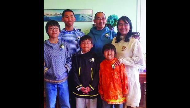 Nancy Analoak & Richard Schulling and family