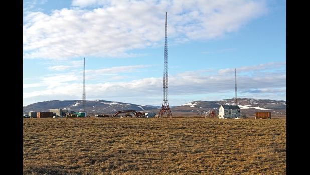 STILL STANDING— The FAA plans to assess contamination levels at the former navigational and communications site this summer.