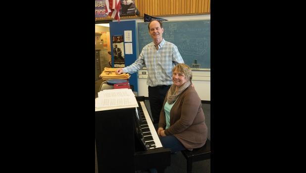 Mr. Horner will retire at the end of this school year from being the musical director at NPS.