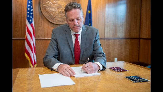 Governor Dunleavy vetoed $444 million from the operating budget.